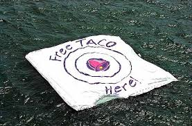 Taco Bell's free taco target in the South Pacific